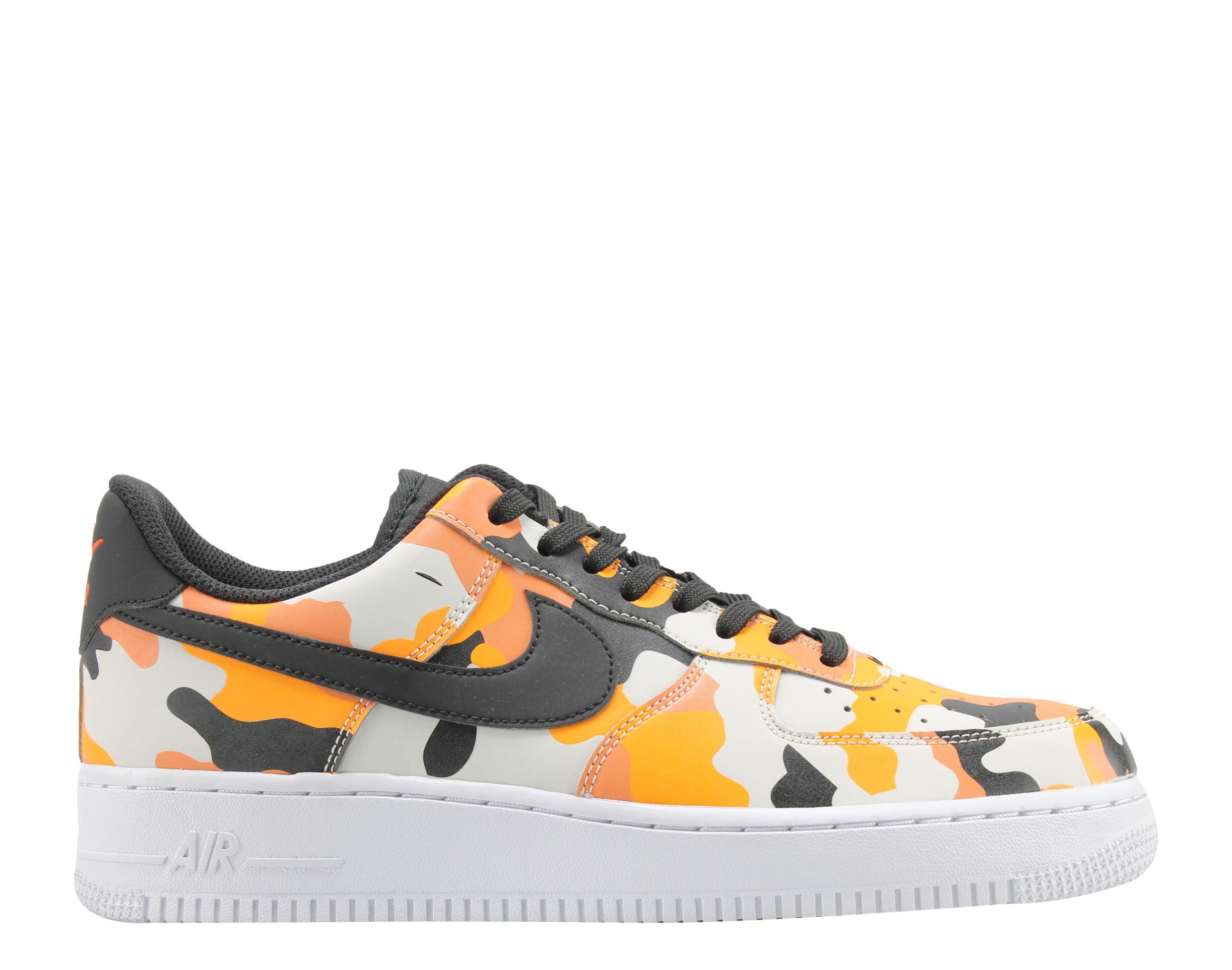 Nike Air Force 1 '07 LV8 Team Orange/Camo Men's Basketball Shoes 823511-800