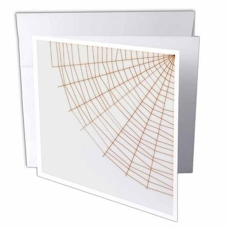3dRose Corner Spider Web- Halloween Art, Greeting Cards, 6 x 6 inches, set of 6](Hamlin Corner Halloween)