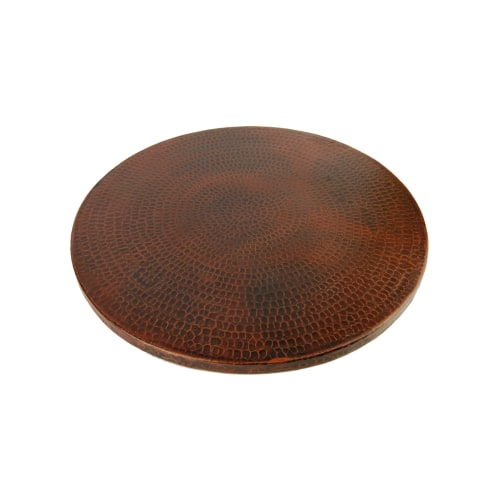 """Premier Copper Products LS18DB Lazy Susan 18"""" Hand Hammer..."""
