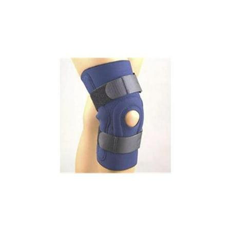 FLA ORTHOPEDICS Safe-T-Sport Hinged Knee Brace, Black, X-Large 1 ea