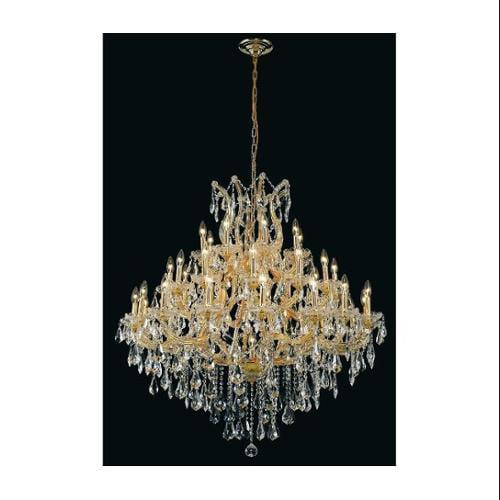 Elegant Lighting 2801G44G/RC Chandeliers Maria theresa