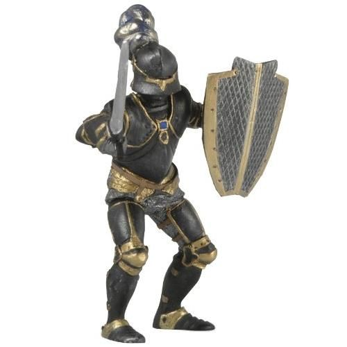 Armored Knight - Black - Action Figures by Papo Figures (39275)
