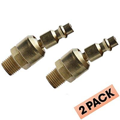"""Uffy Industrial Style Ball Swivel 1 4"""" Connect NPT Male Quick Air Tool M Fitting by Uffy"""