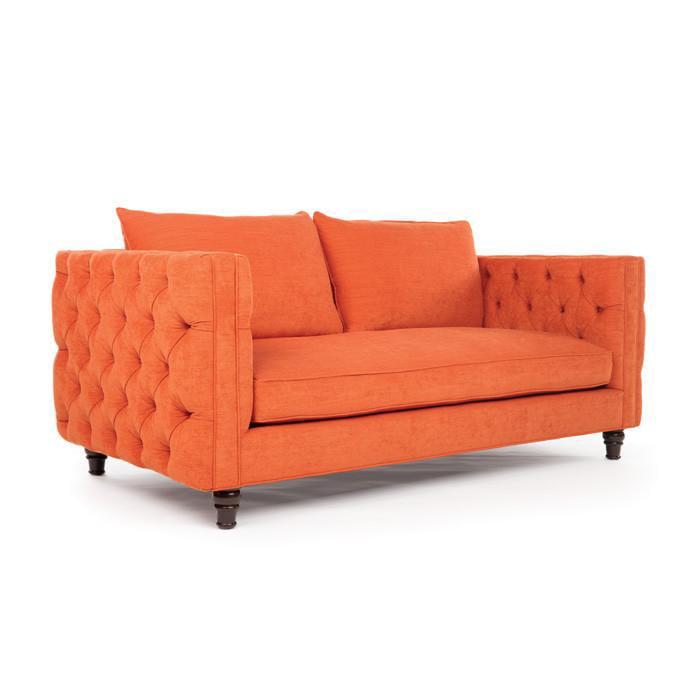 "Eclipse Home Collection Ben Sofa Medium Noah Summertime No Nailheads 80"" L  x 39"" W  x 32"" H"