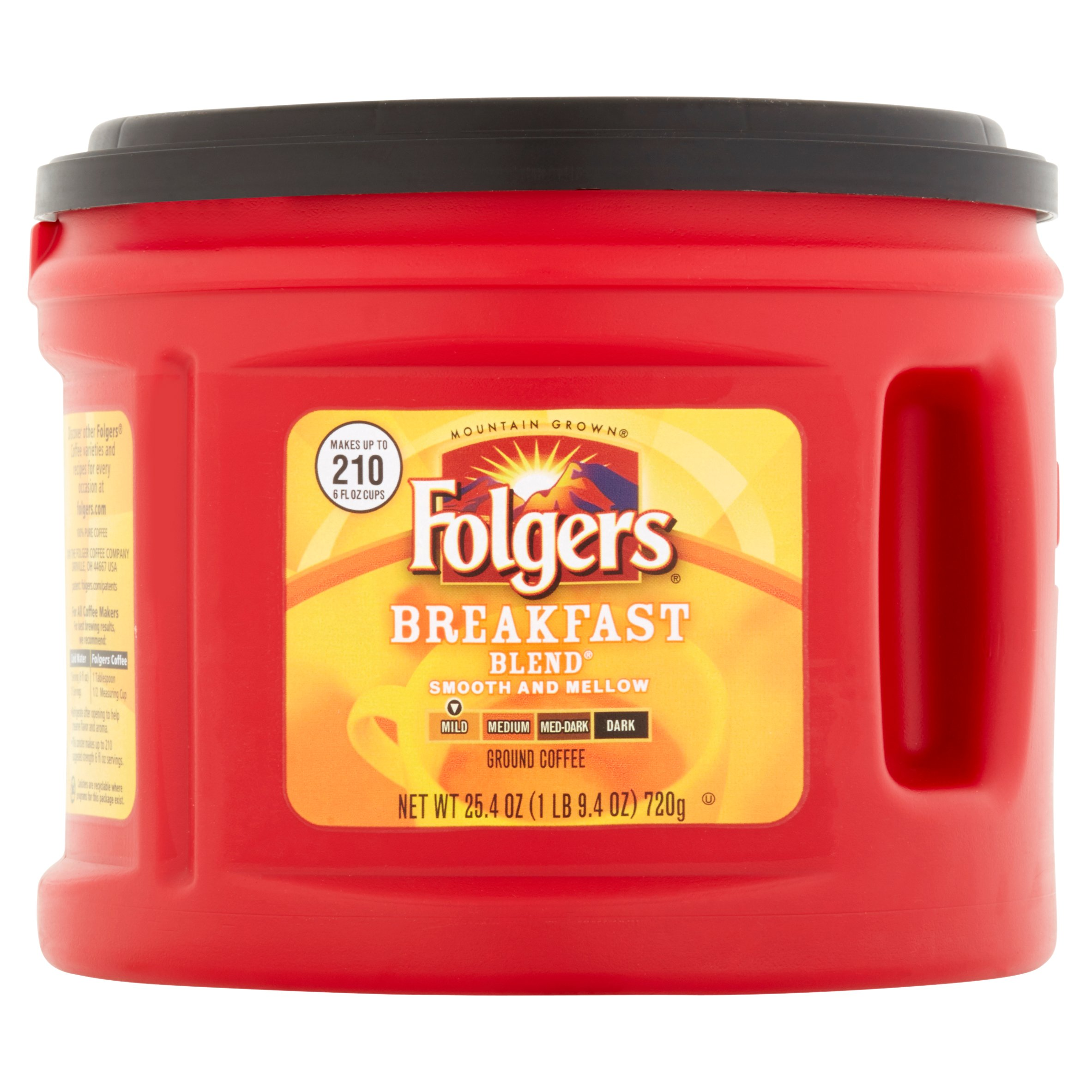 folgers classic roast ground coffee filter packs