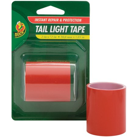 Duck brand translucent tail light tape red 2 x 72 walmart duck brand translucent tail light tape red aloadofball Image collections