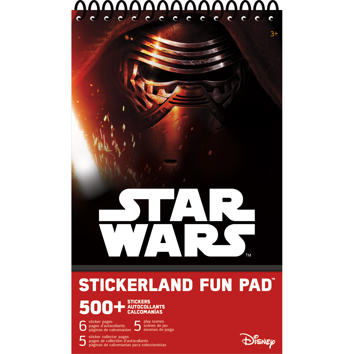 Star Wars 7 Stickerland Pad 6/Pages