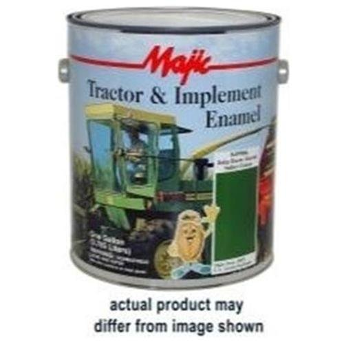 Majic Tractor And Implement Enamel, Gallon Matte Black