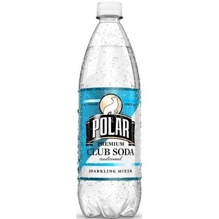 Polar Club Soda (12 pack), 33.8 Fl Oz