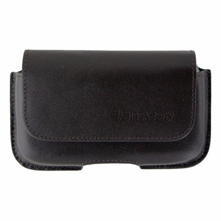 BlackBerry Leather Horizontal Pouch with Beltclip BlackBerry Bold 9000 - - Blackberry Bold 9000 Smartphone
