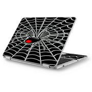 "Skins Decals for Asus Chromebook 12.5"" Flip C302CA Laptop Vinyl Wrap / Black Widow Spider Web"