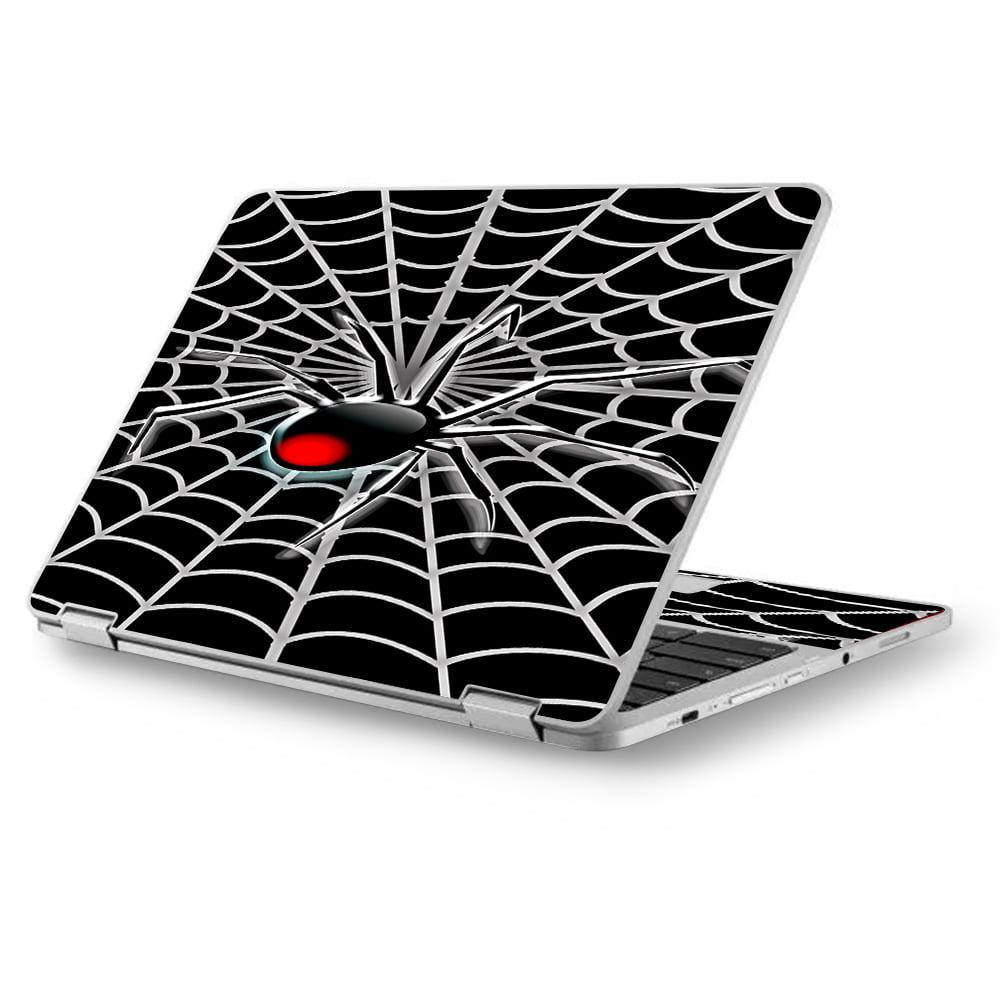 "Skins Decals for MacBook Air 11"" A1370 A1465 / Black Widow Spider Web"