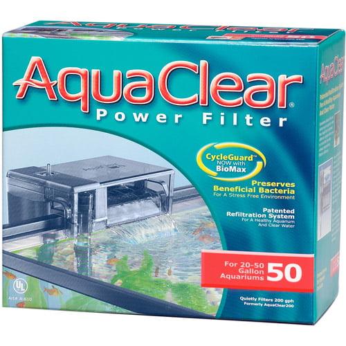 Ul Aqua Clear 50 (200) Filter W/ Media