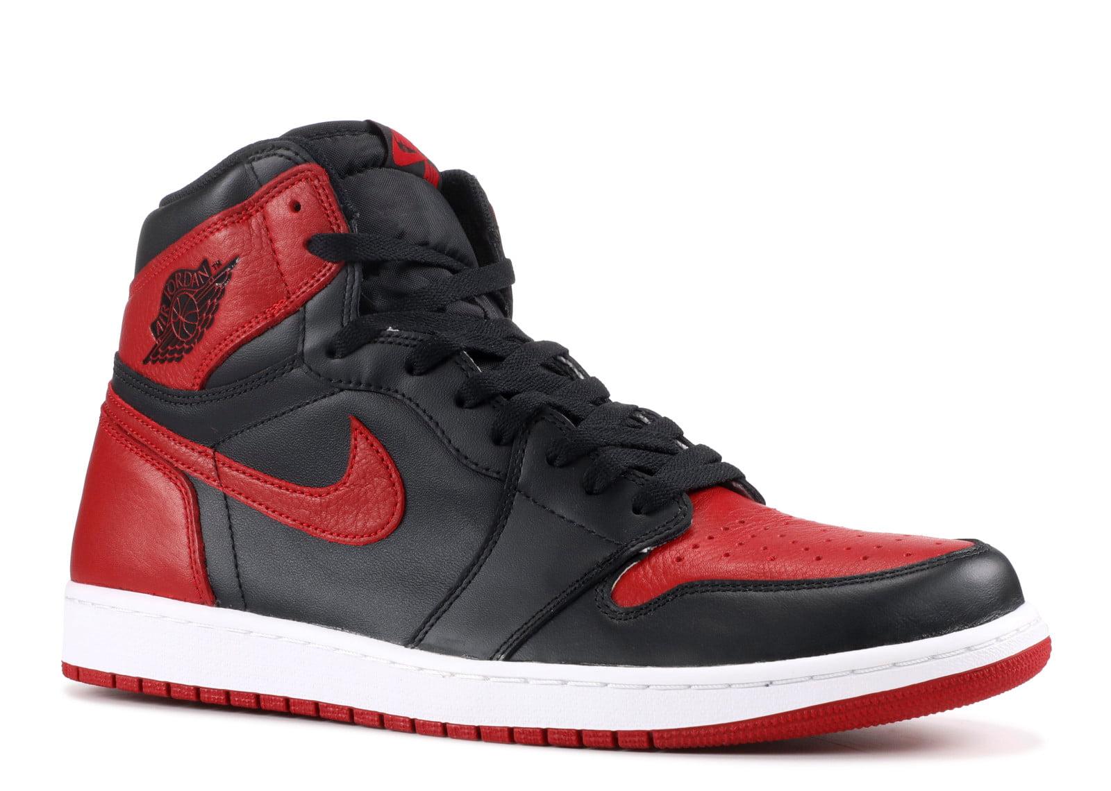 purchase cheap 2b851 6839d Air Jordan - Men - Air Jordan 1 Retro High Og Bred - 555088-001 ...