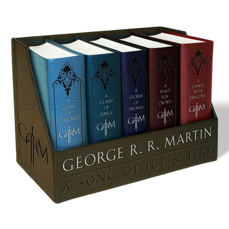 Game of Thrones Leather-Cloth Boxed Set (Song of Ice and Fire (Game Of Thrones Box Set 1 7)