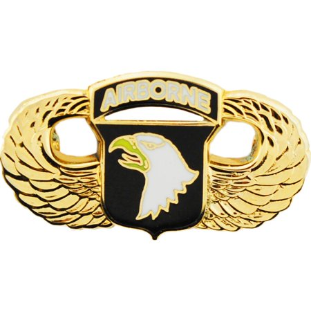 Black Airborne Wing - U.S. Army 101st Airborne Wing Pin Gold Plated 1