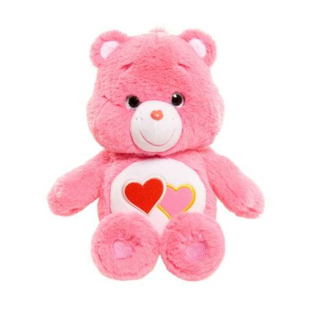 Care Bear Large Plush - Love-A-Lot Bear - Large Care Bear