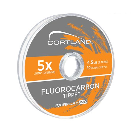 Cortland® Fairplay Pro Fluorocarbon Tippet, 32 yards, - Fluorocarbon Tippet Material