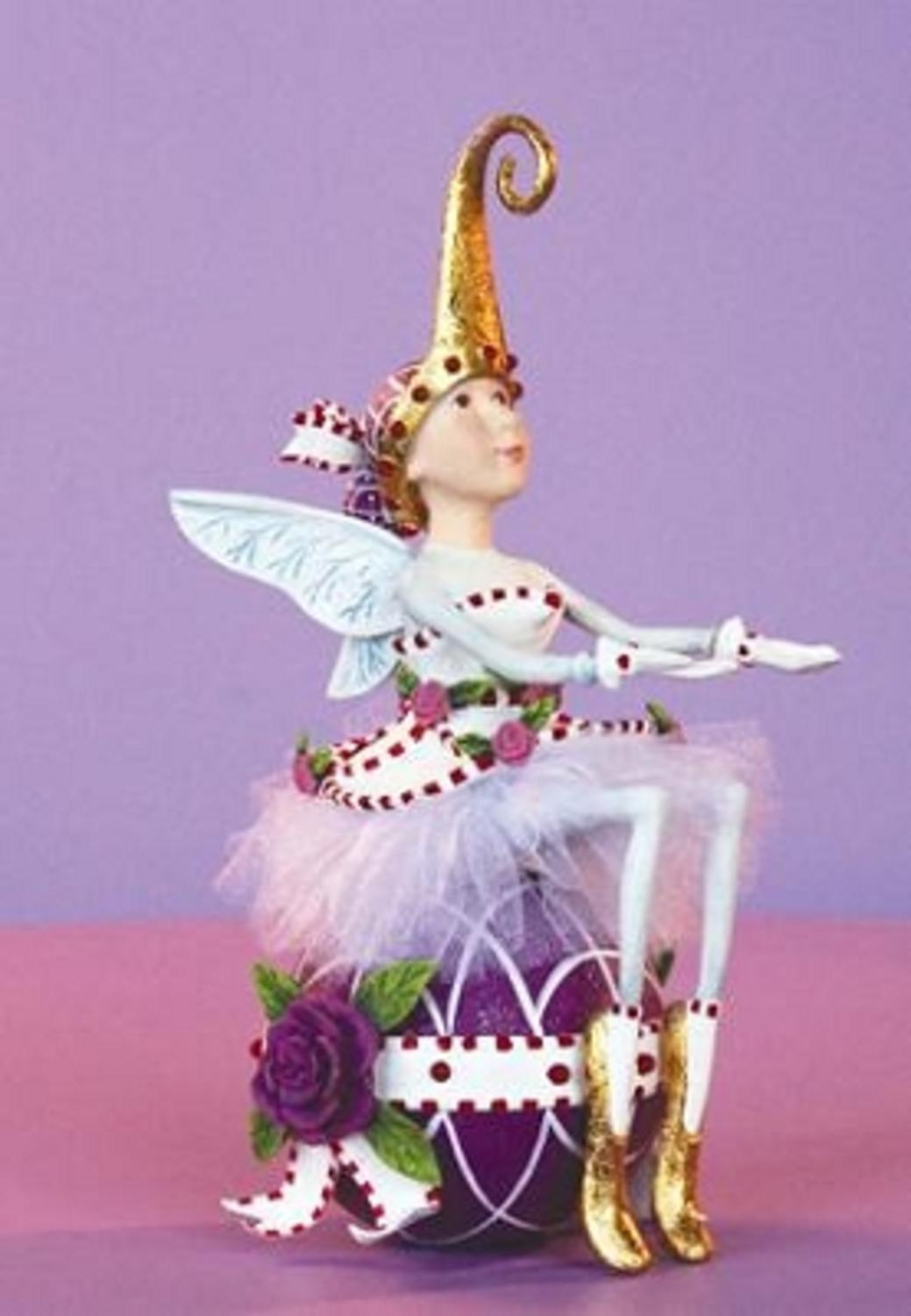 Patience Brewster Krinkles Sugar Plum Fairy Christmas Figure