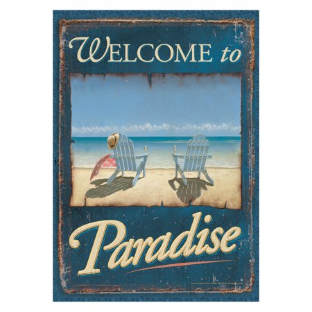 - Toland Home Garden Welcome to Paradise Flag