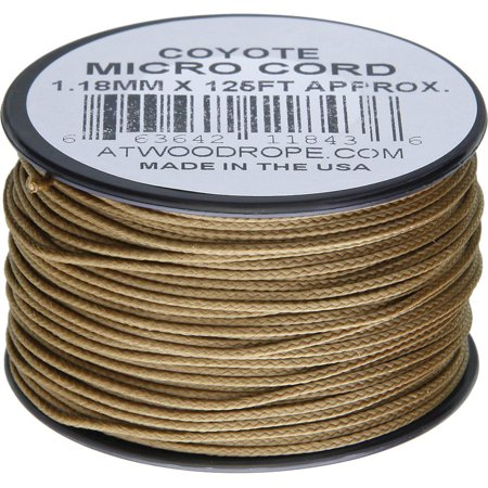 Coyote Cord - Micro Cord 125ft Coyote