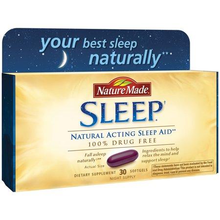 Nature Made Sleep - Natural Acting Sleep Aid** (Best Home Remedy Sleep Aid)