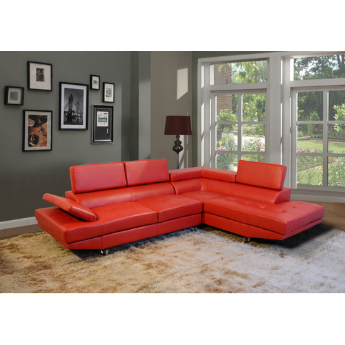Beverly Fine Furniture Fila Sectional by Beverly Fine Furniture