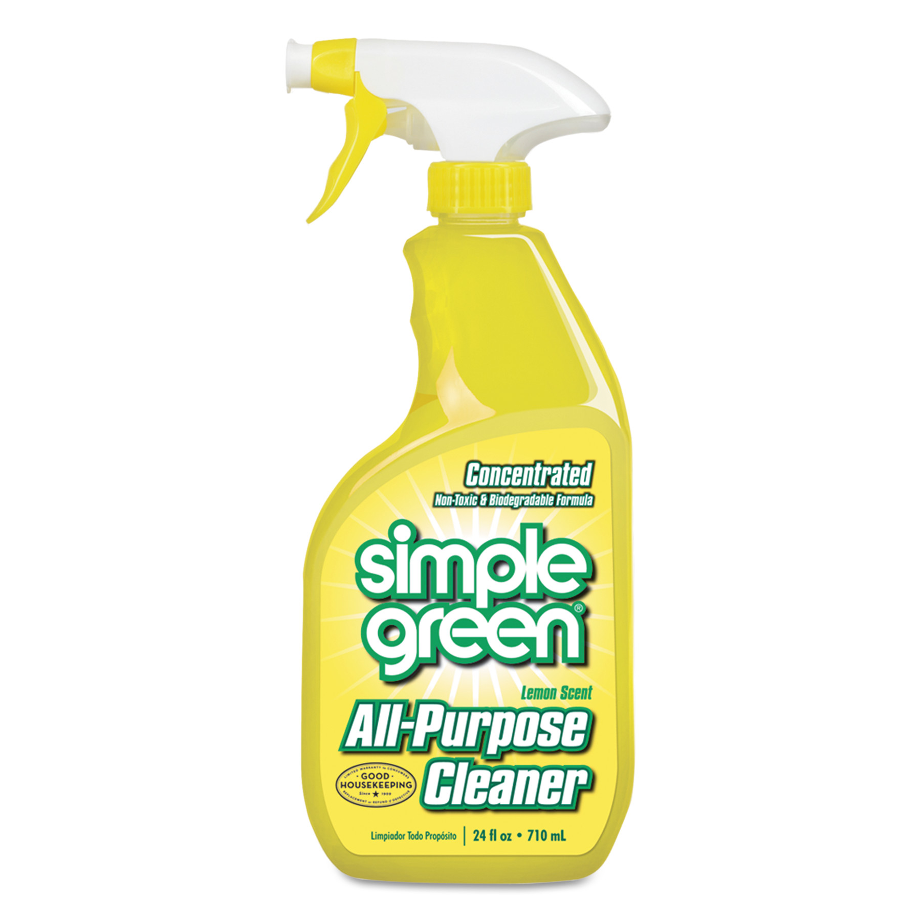 Simple Green Lemon Scent Industrial Cleaner & Degreaser, 24 fl oz