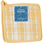 2Pk Pot Holder W/Design 139031