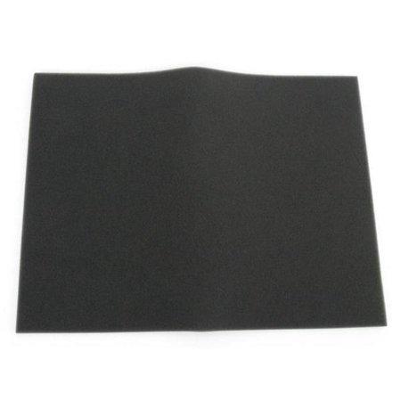 (Uni BF-4 Bulk Fine Foam Filter (60 PPI) - 12in. x 16in.x 3/8in. - Black)