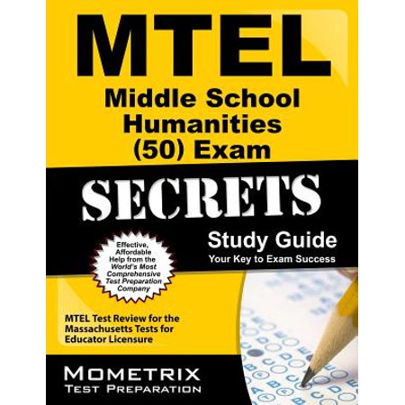 The Middle Halloween Review (MTEL Middle School Humanities (50) Exam Secrets: MTEL Test Review for the Massachusetts Tests for Educator)