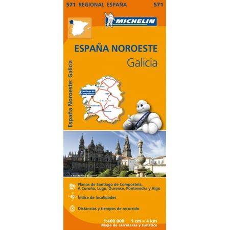 Galicia Regional Map 571  Michelin Regional Maps   Map