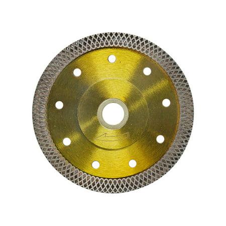 4-1/2'' Dry Wet Tile Granite Porcelain Diamond Blade Saw Mesh Rim Ceramic Cutting Disc Wheel Angle Cutting Segmented Rim Diamond Blade