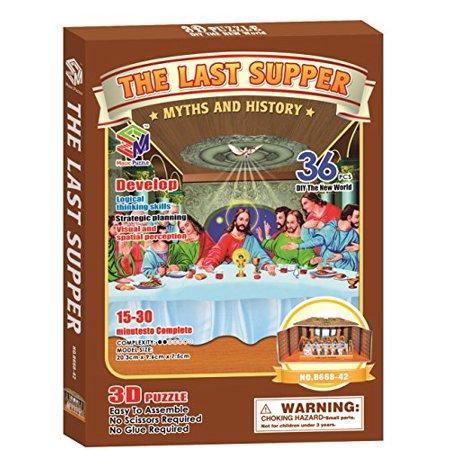 Magic Puzzle The Last Supper, 36 Pieces ()