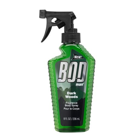 Bod Man Dark Woods Body Spray, 8 fl.oz.