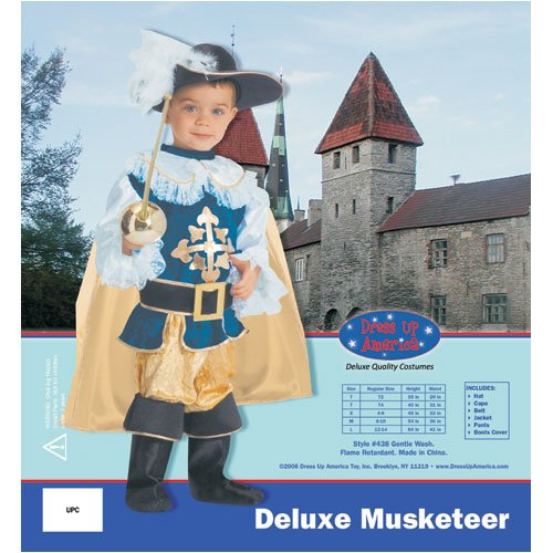 Deluxe Musketeer - Large 12-14
