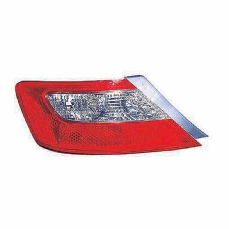 Go-Parts » 2009 - 2011 Honda Civic Rear Tail Light Lamp Assembly Housing / Lens / Cover - Left (Driver) Side - (Coupe) 33551-SVA-A51 HO2818137 Replacement For Honda Civic