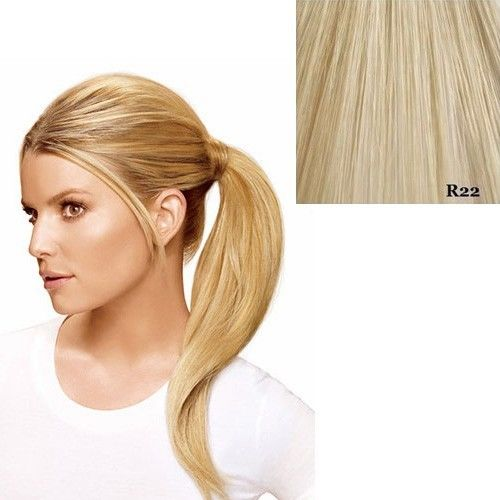 "Hairdo 18"" Wrap Around Pony by Jessica Simpson Ken Paves Extensions R22 (Swedish Blonde)"