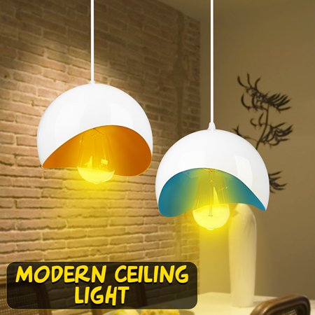 5-15m² 100-240V Modern LED Pendant Lighting Chandelier Hanging Lamp Lampshade Fixture Ceiling Light For Coffee Home Kitchen - Yellow Track Lighting Fixture