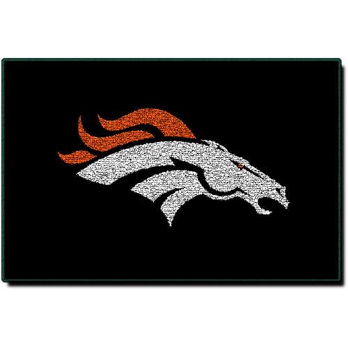 NFL Denver Broncos Coir Door Mat
