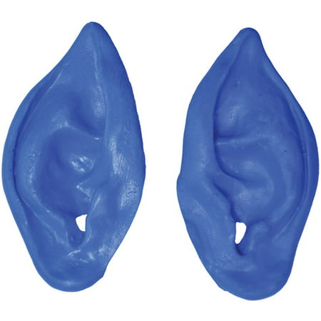 Blue Alien Ears Halloween Accessory - Allen Halloween Music Box