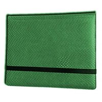 Legion Supplies LGNBN8DHG 2 x 4 Binder-Dragon Hide, Green - 8 Pocket