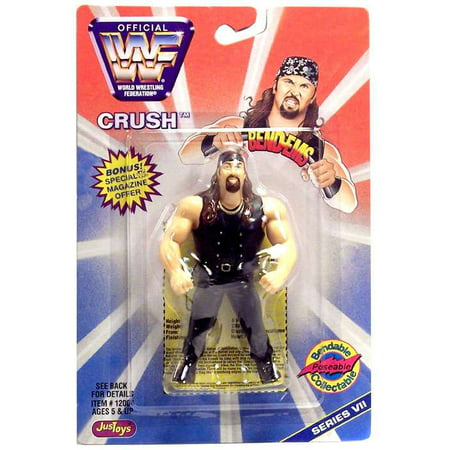WWE Wrestling Bend-Ems Series 7 Crush Rubber Figure (Crush Figure)