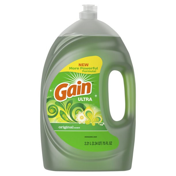 Gain Ultra Liquid Dish Soap Original Scent 75 Fl Oz Walmart