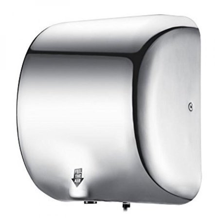 Happybuy Hand Dryer Heavy Duty Commercial 48W Hand Dryers High Cool Bathroom Hand Dryers Style