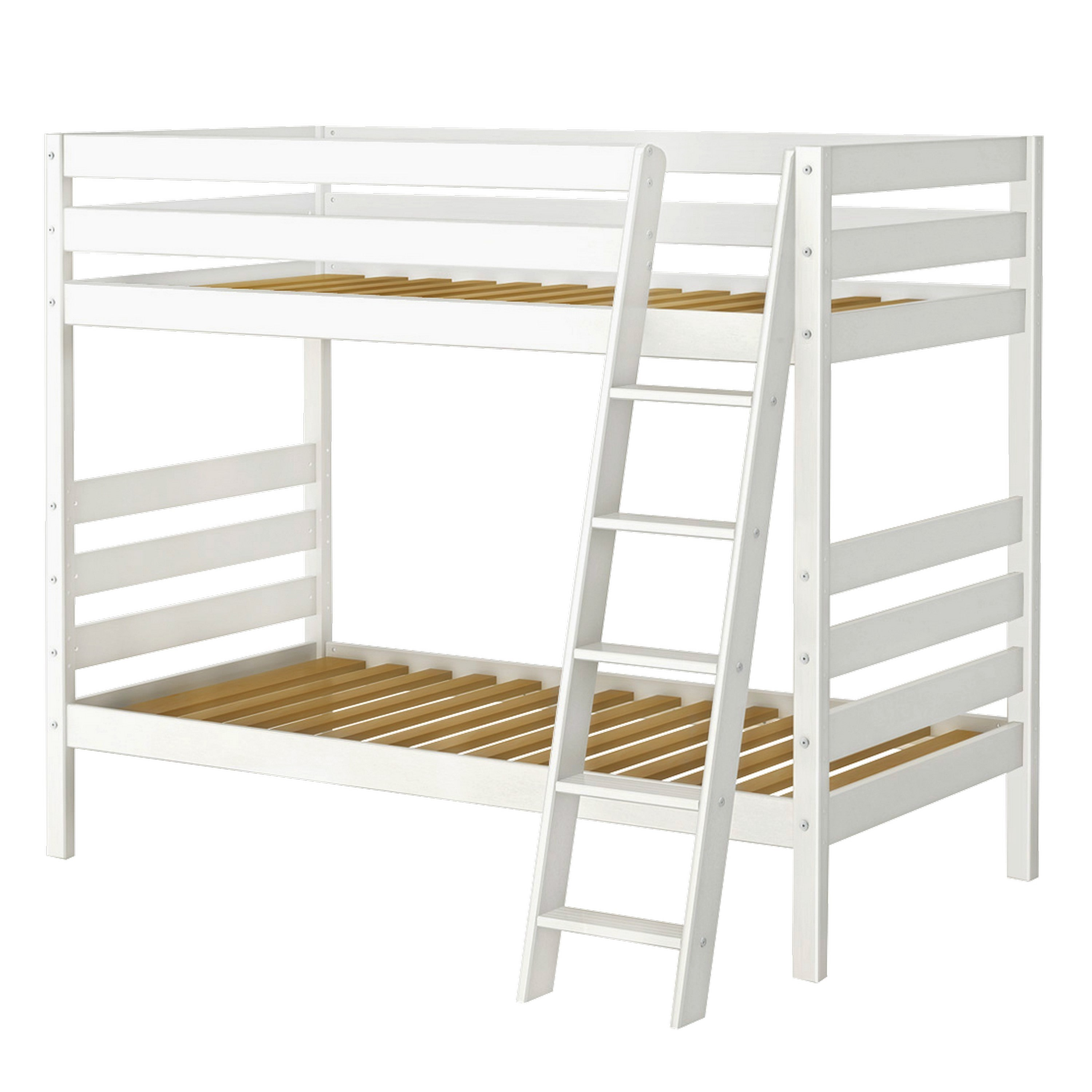 Merveilleux Maxwood Furniture Inc Double Up Bunk Bed With Angle Ladder   Walmart.com