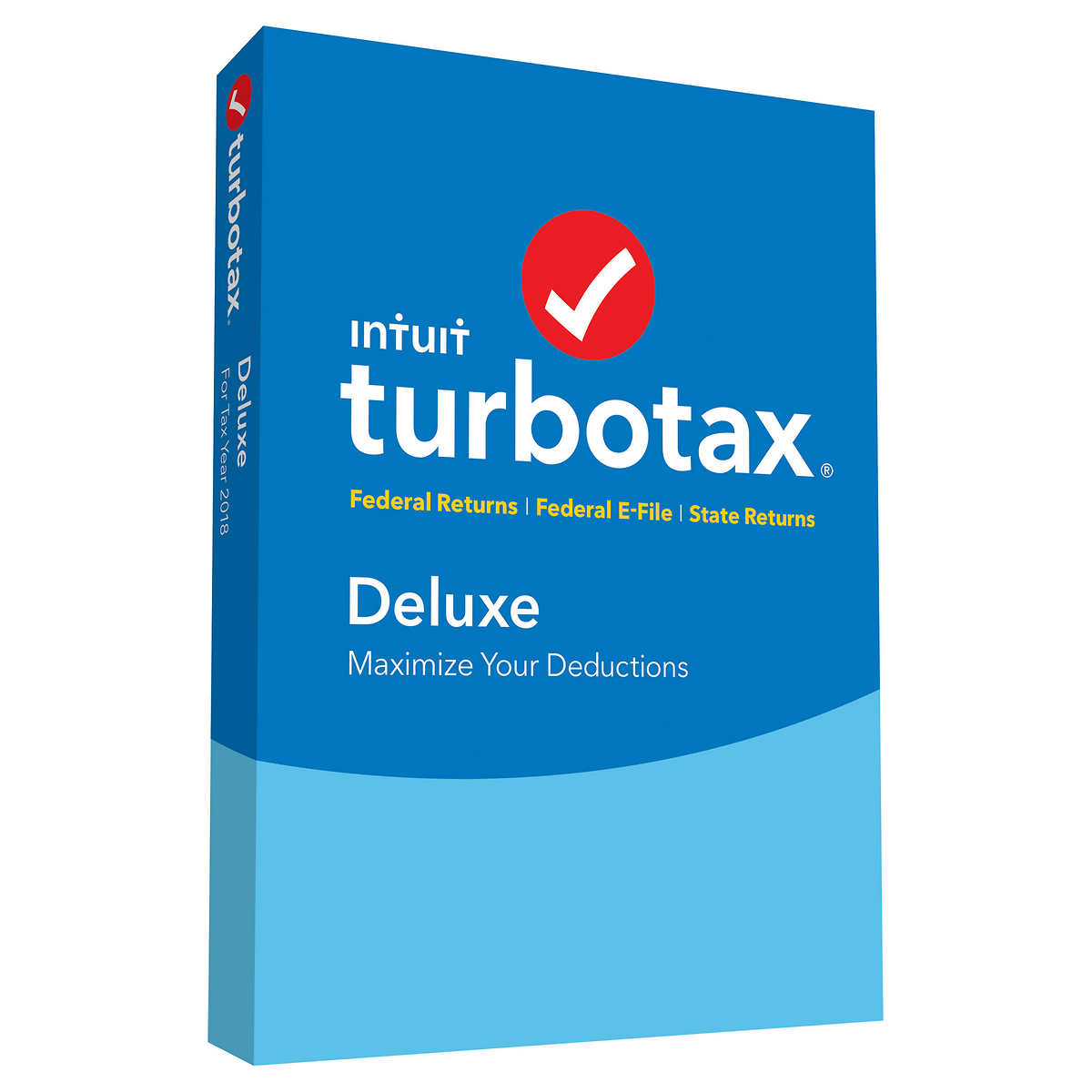 TurboTax Deluxe Federal & State 2018