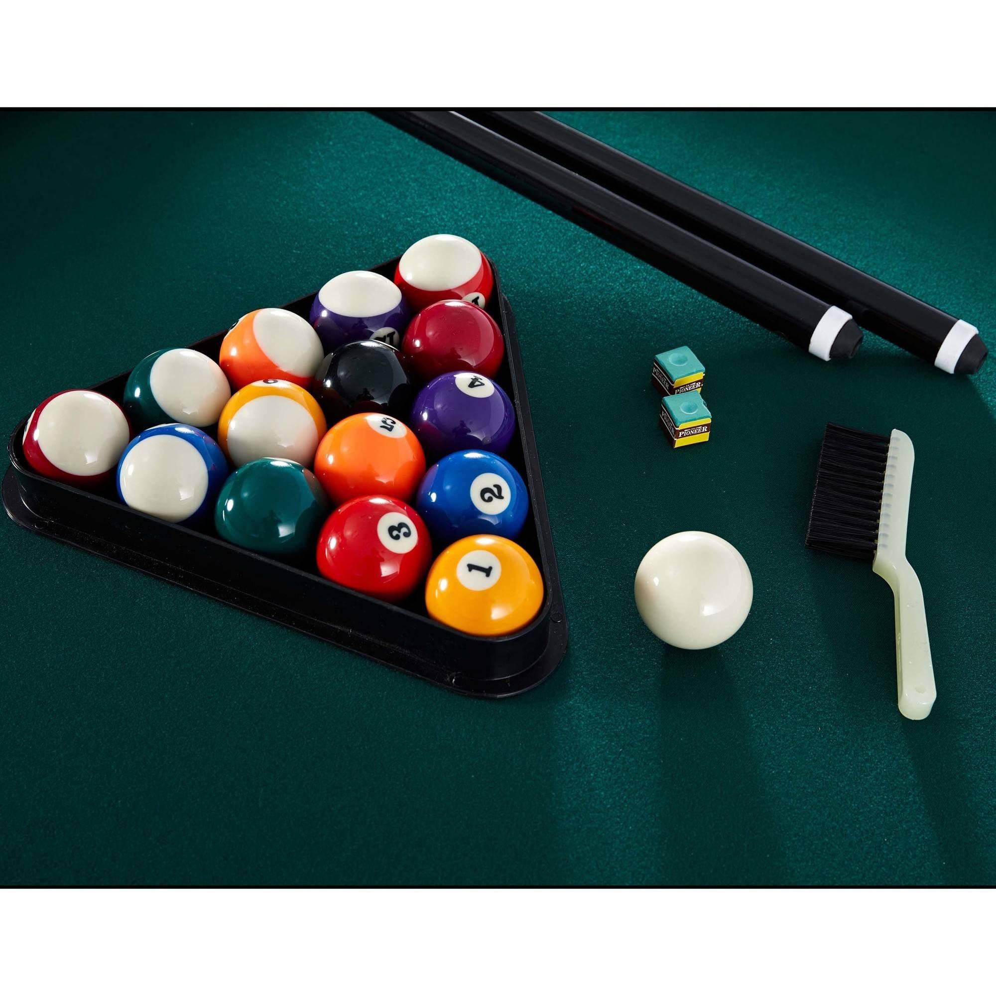 Billiard Pool Table With Bonus Dartboard Set Inch EBay - 84 pool table