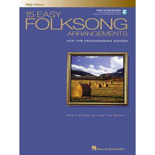 15 Easy Folksong Arrangements: For the Progressing Singer