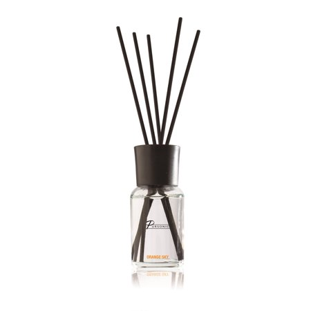 Pursonic Fragrances Reed Diffuser, Orange Sky, 1.7 Oz - Grapefruit Home Fragrance Diffuser